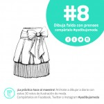 faldas con prenses