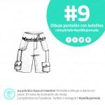 pantalones con bolsillos
