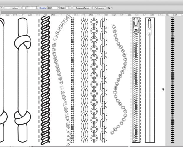 Pasos para crear pinceles en Illustrator