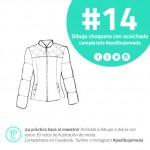 chaqueta con acolchado