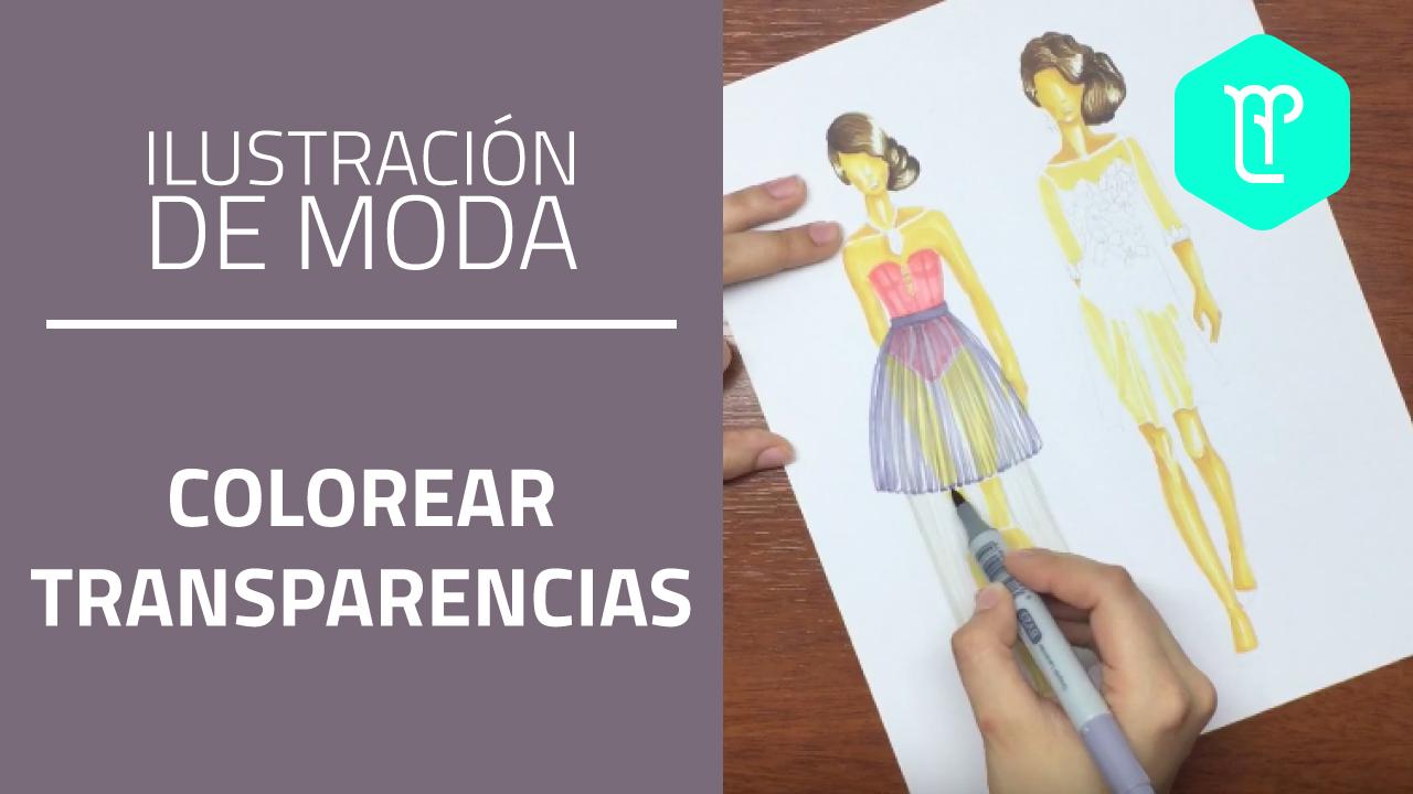 Cómo colorear transparencias en figurines