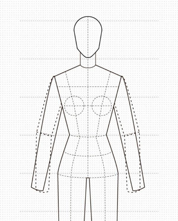 Quieres aprender a dibujar figurines de moda?
