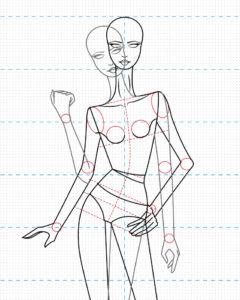 vector-de-figurín-estilizado