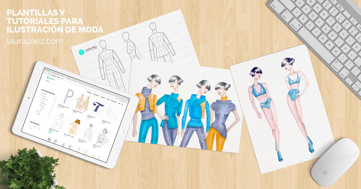 4b74af3e819 Aprende diseño de moda y dibuja figurines de moda