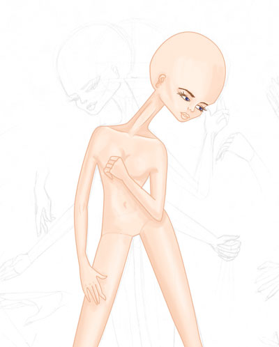 Del boceto al figurin digital