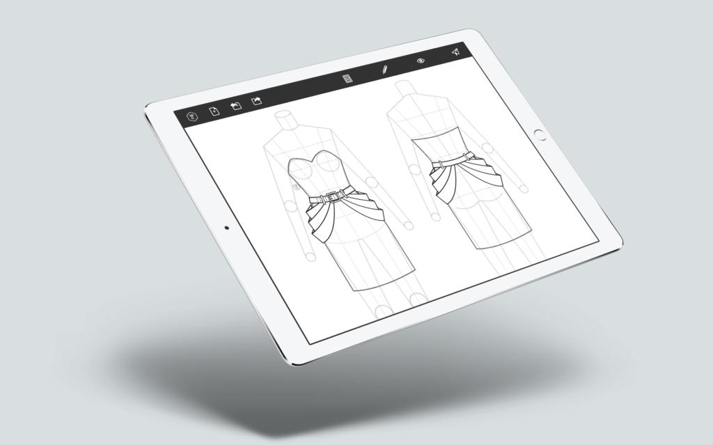 app para diseño de moda Laura Páez