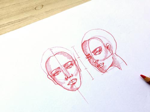 como-dibujar-caras-de-tres-cuartos