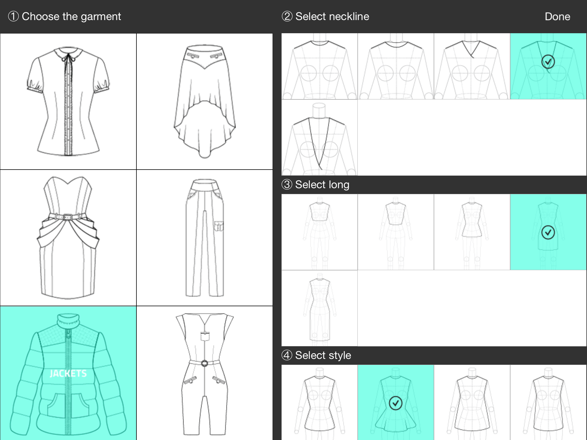 Fashion Design App