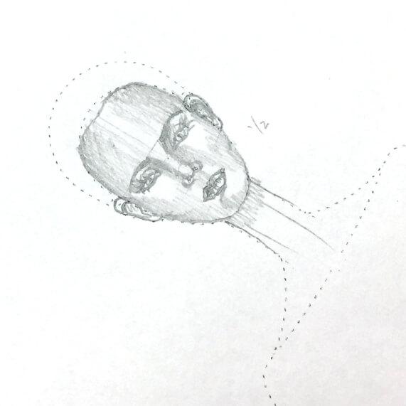 dibujar caras en figurines