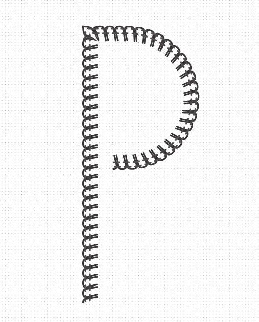 Pinceles de filete de seguridad para illustrator