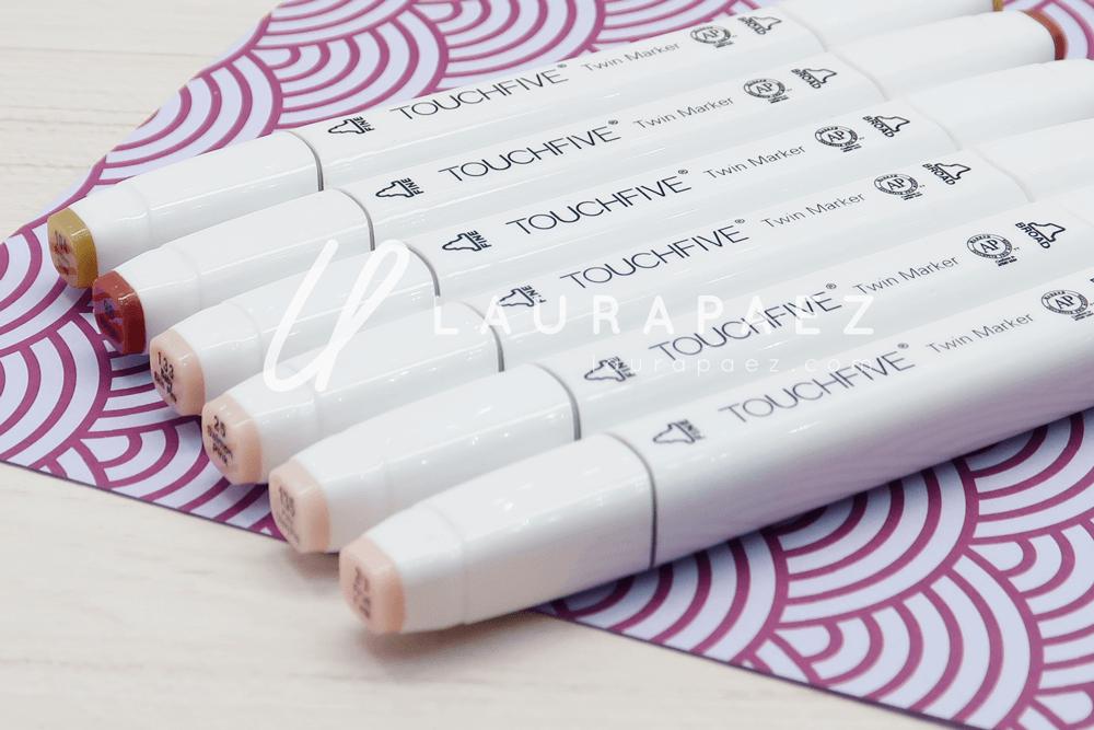 marcadores touch five para piel DaVinci