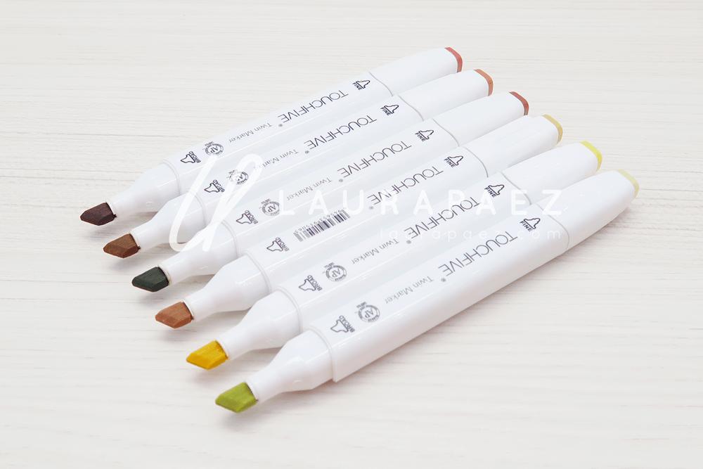 marcadores de alcohol Touch five REMBRANT