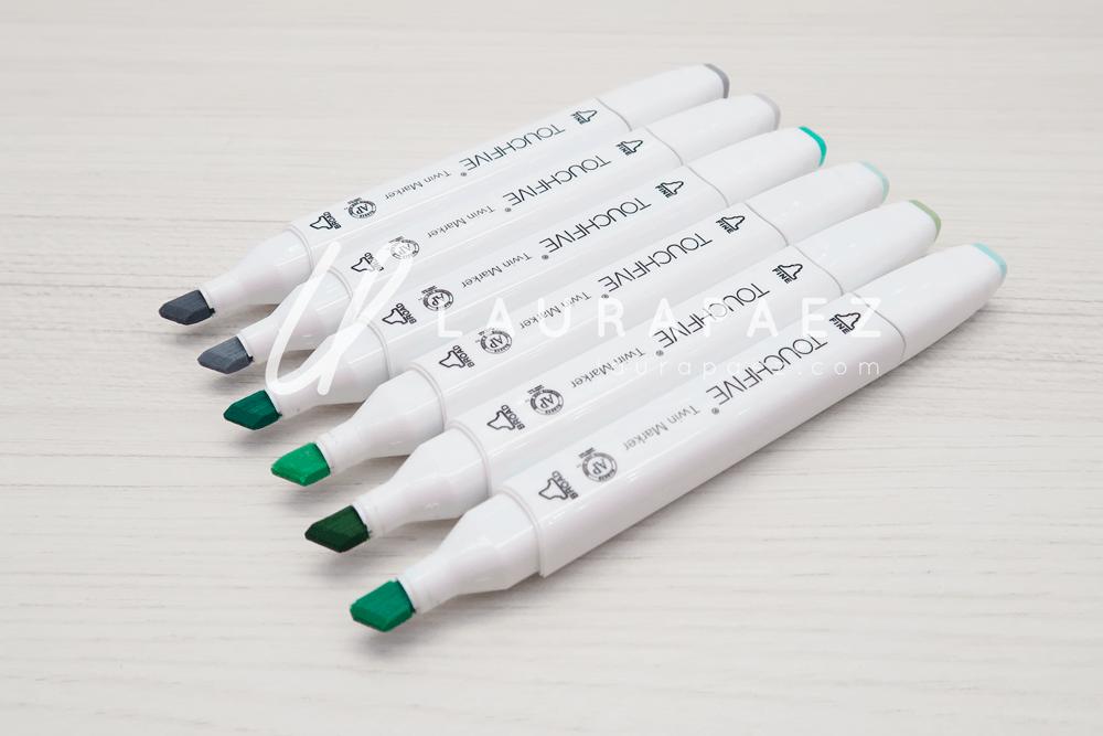marcadores para colorear VanGogh