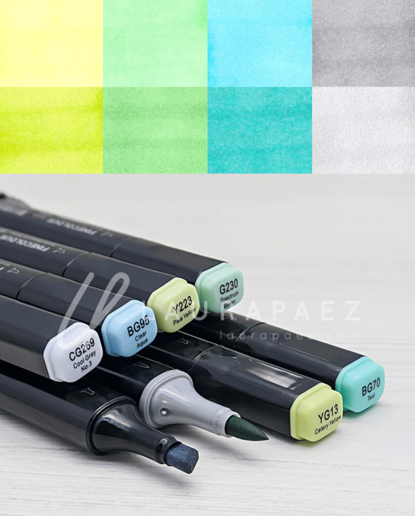 brody marcadores para ilustradores
