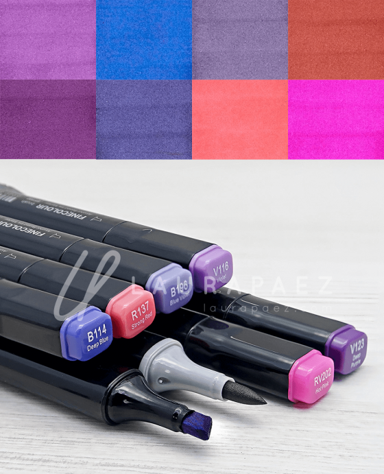 delpozo marcadores para ilustrar moda