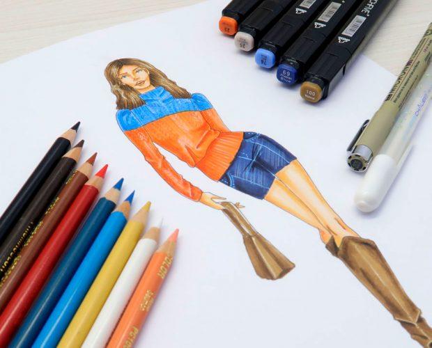 figurín-con-lápices-de-color