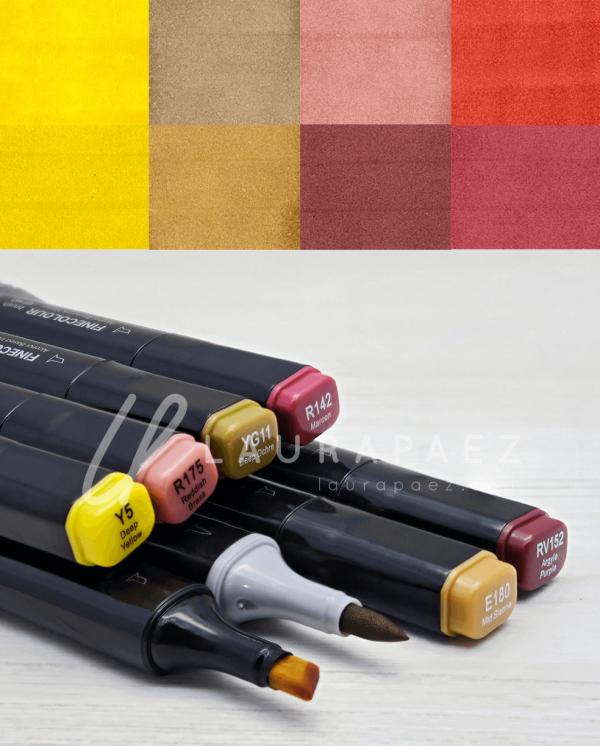 prada marcadores para cabellos rubios