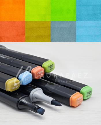 ron marcadores para diseñadores