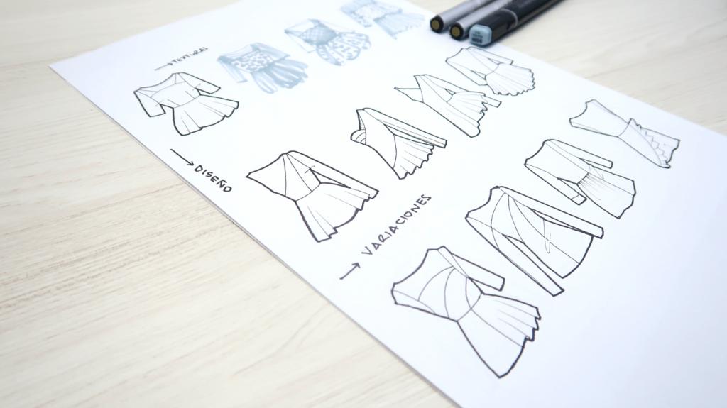 como diseñar blusas