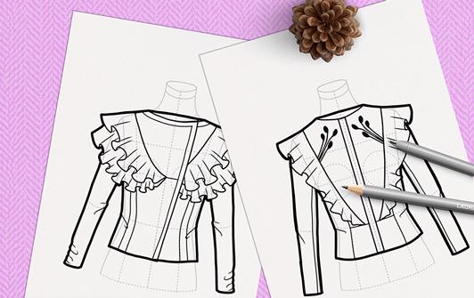 diseñar ropa de mujer