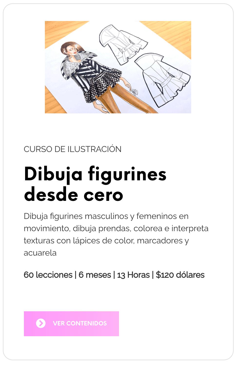 Curso de dibujo de figurines laura paez