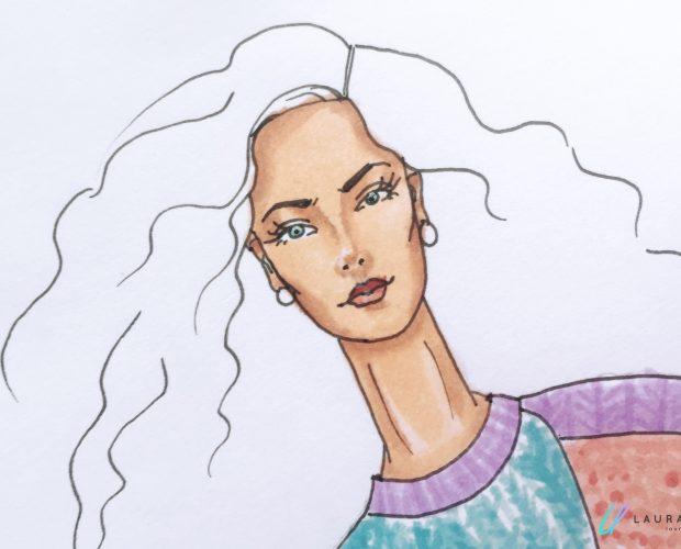 colorear caras de figurines